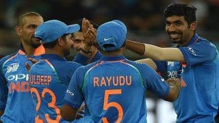 Asia Cup 2018, India vs Bangladesh Final: Jasprit Bumrah Bowls a Deadly Yorker to Rubel Hossain to End Bangladesh's Innings For 222 | WATCH