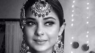 Bepannah Fame Jennifer Winget Looks Sparkling as Bride in This Monochrome Picture
