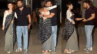 Manmarziyaan Screening: Anurag Kashyap Welcomes Kalki Koechlin With a Warm Hug - View Pictures