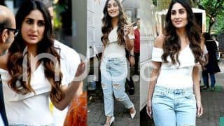 Kareena Kapoor Khan Wears a White Off-Shoulder Top With Distressed Denim But Something About The Look Feels Off; See Pics