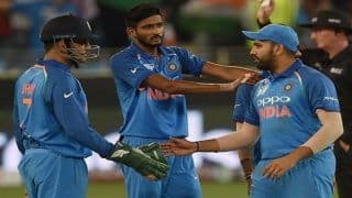 Asia Cup 2018, India vs Hong Kong 4th ODI: Shikhar Dhawan, Khaleel Ahmed, Yuzvendra Chahal Star as India Edge Hong Kong by 26 Runs in Thriller to Stay Alive in Tournament