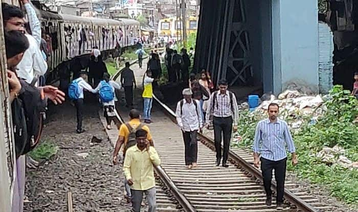 Mumbai Local Train Services Hit on Harbour Line Due to
