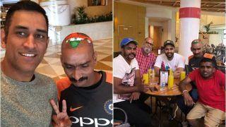 Asia Cup 2018, India vs Bangladesh: MS Dhoni, Rohit Sharma Meet Sudhir Gautam, Chacha Chicago, Sri Lankan Fans Ahead of Final Against Bangladesh | SEE PICS