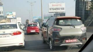 Mahindra KUV100 Electric Spied Testing; India Launch, Price in India, Specs, Features