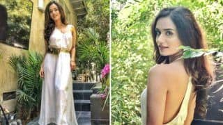 Miss World Manushi Chhillar Looks Refreshingly Hot in All White Ensemble - See Pictures