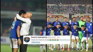 SAFF 2018: India vs Pakistan Semi-Final: Blue Tigers Thrash Pakistan 3-1, Thanks to Manvir Singh's Brace, Twitter Erupts in Joy