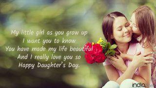 Happy Daughter's Day 2018: स्पेशल मैसेज से करें विश, देखें SMS, WhatsApp Messages, Facebook Status, Gif Images
