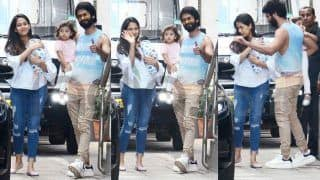 Shahid Kapoor And Mira Rajput Take Baby Zain Kapoor Home With Misha; Check Out First Pics of The Baby