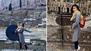 Naagin Fame Mouni Roy Raises The Hotness Quotient as She Visits Acropolis of Athens With Her Girl Gang - See Pictures