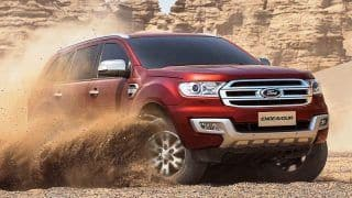 2018 Ford Endeavour aka Everest first spy images emerge while testing in Australia