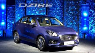 New Maruti Dzire Beats Maruti Alto to Become the Bestselling Car in August 2017