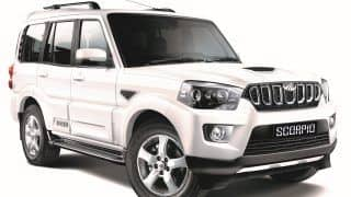 New 2017 Mahindra Scorpio Facelift launched; Price in India starts from INR 9.97 Lakh