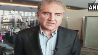Pakistan Foreign Minister SM Qureshi Says War With India Not Option, Improving Ties With it
