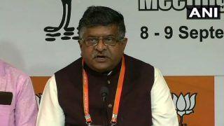 'Ajeya Bharat, Atal BJP' Will be Party's Slogan For Lok Sabha 2019 Polls, Says Ravi Shankar Prasad