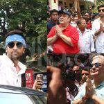 Ranbir Kapoor, Rishi Kapoor, Randhir Kapoor And Rajiv Kapoor Bid Adieu to RK Studios' Last Ganpati; See Photos And Videos