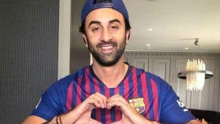 Ranbir Kapoor's Biggest Birthday Gift Wasn't Alia Bhatt's Baked Cake But FC Barcelona Jersey Signed by Lionel Messi