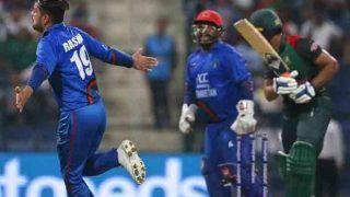 राशिद खान की गेंद पर चकमा खा गया पाकिस्तानी बैट्समैन, VIDEO में देखें 'बॉल ऑफ द मैच'
