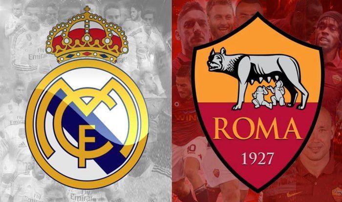 UEFA Champions League 2018-19, Real Madrid vs AS Roma Live ...