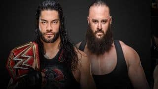 WWE RAW: Ahead of WWE Hell in a Cell, Roman Reigns Smashes Braun Strowman Through The Announcement Table, Leaves Him Injured--WATCH
