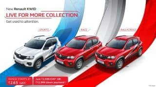 Renault KWID 'Live for More Collection' launched with 7 new graphic designs
