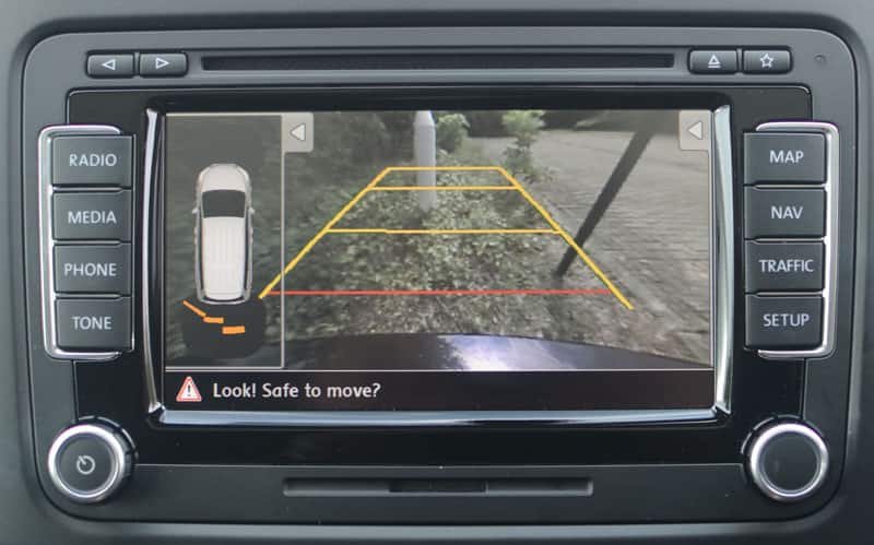 rear parking camera for car