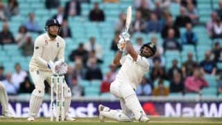 India vs England 2018, 5th Test at Oval: Rishabh Pant Smashes Maiden Test Century Against England With a Six, KL Rahul Solid For India