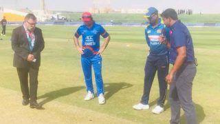 SLvsAFG: अफगानिस्तान ने टॉस जीतकर लिया बैटिंग का फैसला, श्रीलंका ने प्लेइंग इलेवन में किए 3 बदलाव