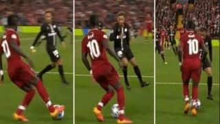 UEFA Champions League: Liverpool's Sadio Mane Bamboozles Paris Saint-Germain's Neymar With Outrageous Skill--WATCH