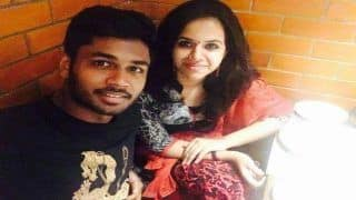 Cricketer Sanju Samson to Marry College Sweetheart Charu in December