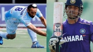 Sardar Singh Credits Sachin Tendulkar For His Comeback After Commonwealth Games Snub
