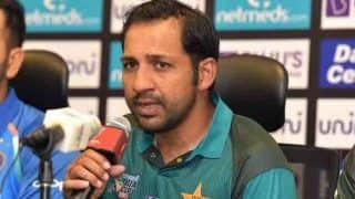 'Disappointed' Pak Captain Sarfraz Feels Cricket is Being Targeted For Political Gains After Pulwama Attack