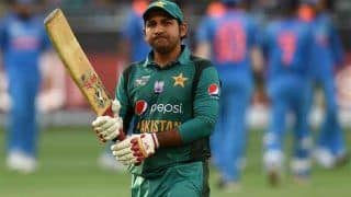Pakistan Cricket Captain Sarfraz Ahmed Gets Four-Match Ban For Racist Slur