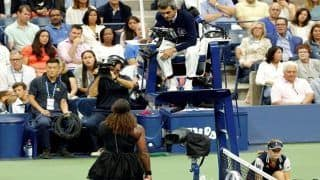 US Open 2018: Serena Williams Slams Chair Umpire Carlos Ramos For Game-Penalty in Women's Final Against Naomi Osaka | WATCH