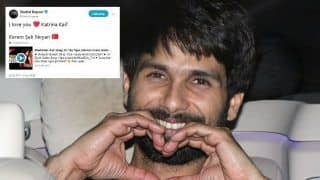 Shahid Kapoor's Twitter And Instagram Hacked; 'I Love You Katrina Kaif', Reads The Post