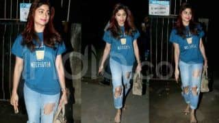 Shamita Shetty Just Wore The Most Bizarre Looking Pair of Denim; See Pics