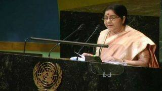 Sushma Swaraj at UN General Assembly: EAM Attacks Pakistan Over Terrorism, Says Country Glorifies Killers