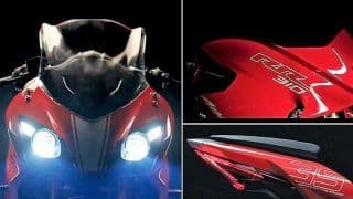 TVS Apache RR 310 India Launch LIVE Streaming; Watch Online Telecast and Live Stream of Apache 310