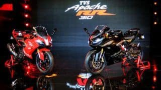 TVS Apache RR 310 (Akula) Launched; Priced in India at INR 2.05 Lakh