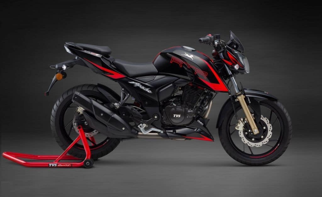 TVS Apache RTR 200 4V Racing Edition Launched; Price in India starts at INR 95,185