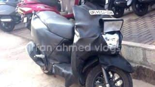 TVS Graphite Scooter Spied Testing Again; India Launch Soon
