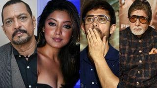 Tanushree Dutta's Sexual Harassment Allegations on Nana Patekar: Amitabh Bachchan And Aamir Khan Comment at Thugs of Hindostan Trailer Launch
