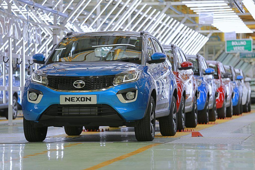 Tata Nexon SUV production surpasses 25,000 mark in India