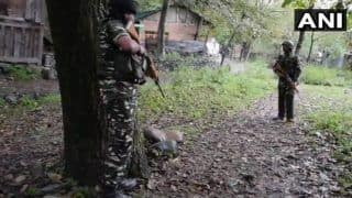 J&K: Body of Terrorist Recovered From Pulwama's Tral, Search Ops Underway