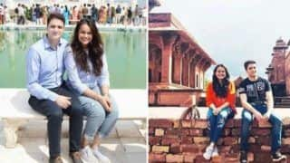 IAS Couple Tina Dabi And Aamir-ul-Shafi Give us Major Couple Twinning Goals During Their Trip to Agra - View Pictures