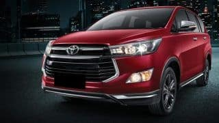 Toyota Innova Crysta Touring Sport launched in India at INR 17.79 lakh