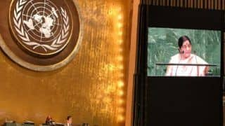 Full Text of  Sushma Swaraj Speech at 73rd UN General Assembly