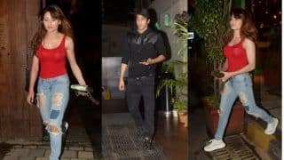 Urvashi Rautela Out on a Coffee Date With Ananya Panday's Brother Ahaan Panday ; Duo Hesitates to Face The Shutterbugs