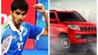 Kidambi Srikanth to be gifted a TUV300 personally by Anand Mahindra for Super Series win