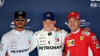 Valtteri Bottas Pips Lewis Hamilton to Take Pole at Russian Grand Prix, Sebastian Vettel to Start Third