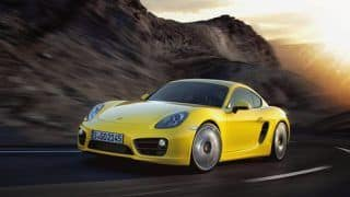 2013 Porsche Cayman S launched in India at Rs 92.28 lakh
